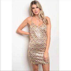 Dresses & Skirts - Glitter Mini Dress